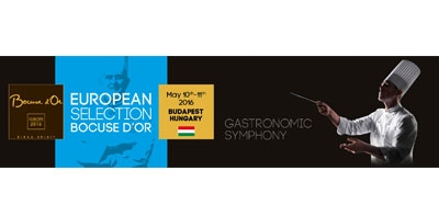 Registration and Tickets for the European Selection Bocuse d'Or contest