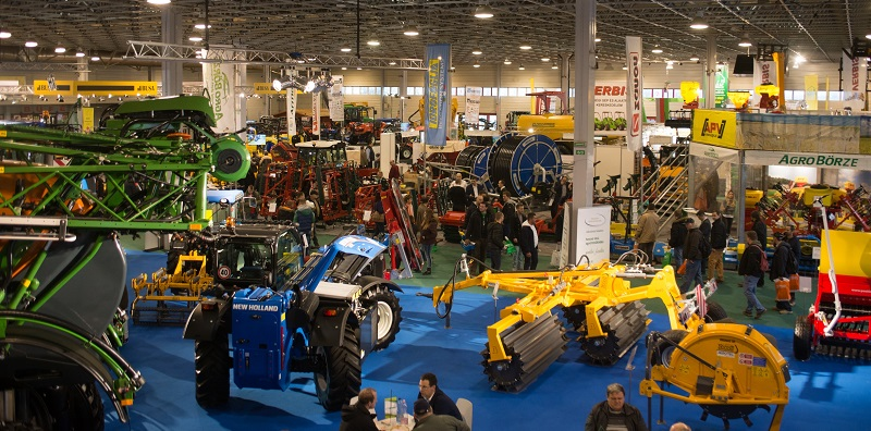Record number of visitors at the AGROmashEXPO, AgrárgépShow