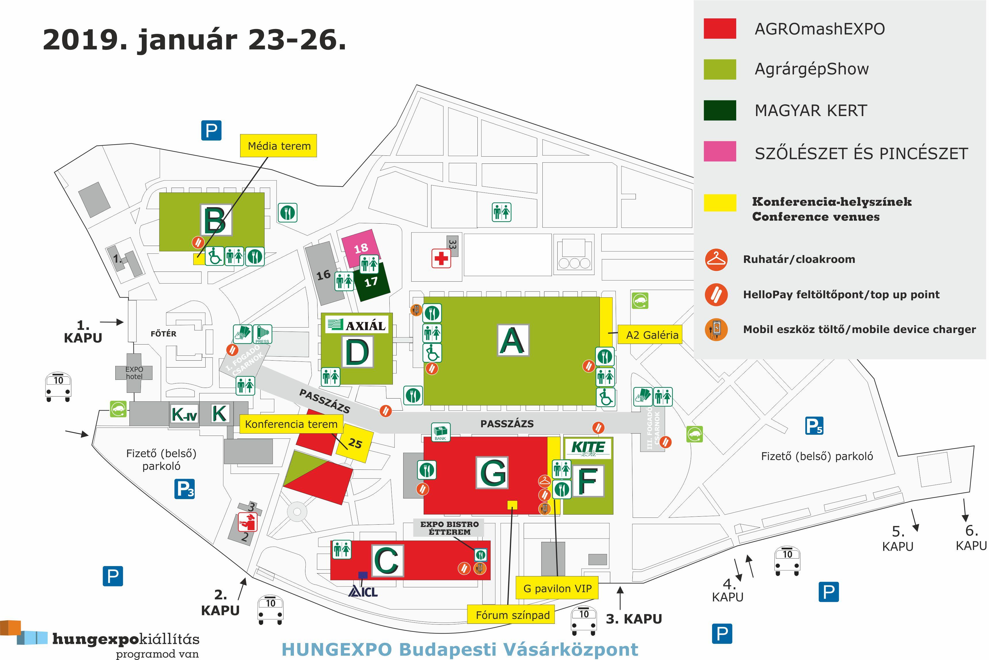 hungexpo térkép AGROmashEXPO   térkép