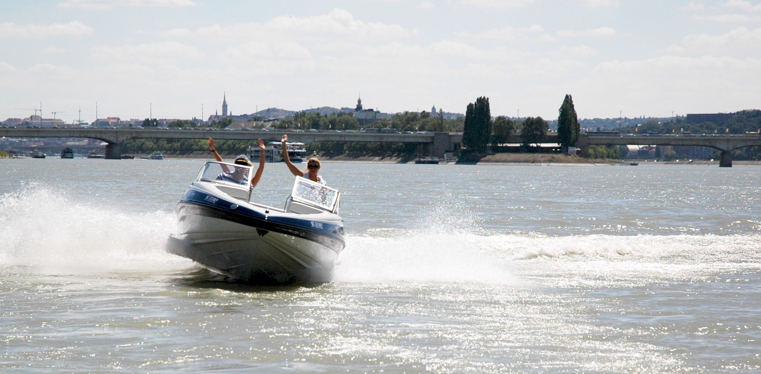Sziget VIP Boat - brought to You by Budapest Boat Show