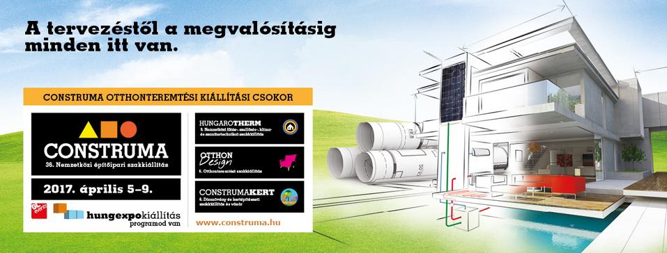Építkezőknek, felújítóknak kihagyhatatlan: CONSTRUMA
