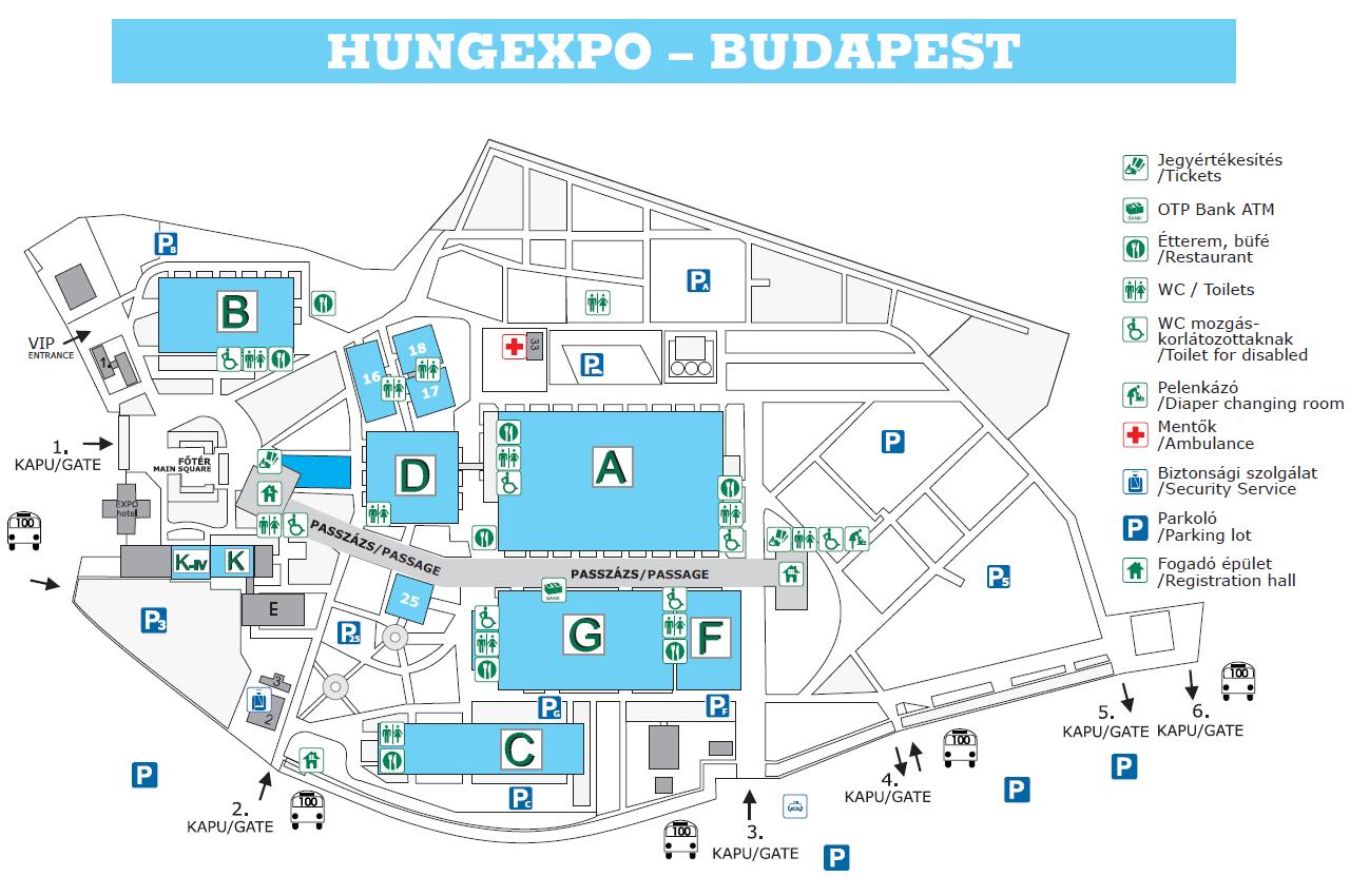budapest térkép hungexpo Helyszín   megközelíthetőség, parkolás budapest térkép hungexpo