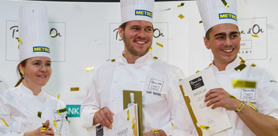 Tamás Széll and his team will represent Hungary on Bocuse d'Or Europe 2016 Final
