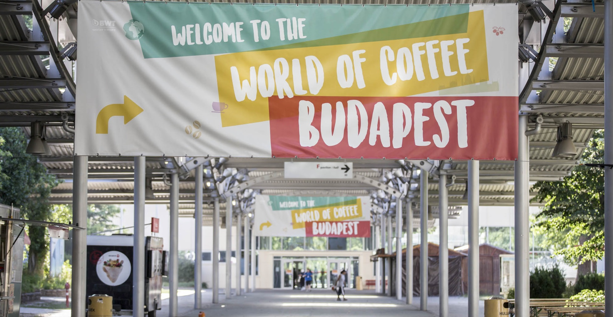 World of Coffee was hosted by HUNGEXPO-Budapest
