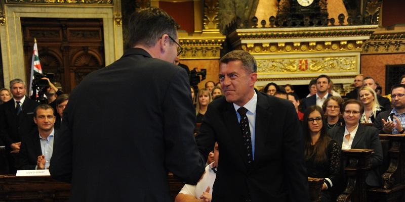 Fővárosi kitüntetést kapott Ganczer Gábor