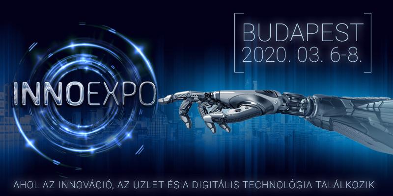 INNOEXPO TECHNOLÓGIAI KIÁLLITÁS ÉS VÁSÁR - 2020 március 6-8.