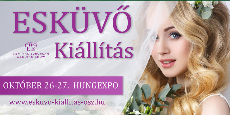 V. Őszi Esküvő Kiállítás -  2019. október 26-27.