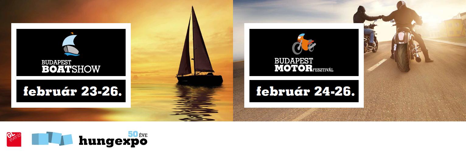 Budapest Boat Show  és Budapest Motor Fesztivál 2017