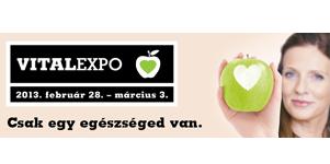 VitalExpo kiállítás a HUNGEXPO-n