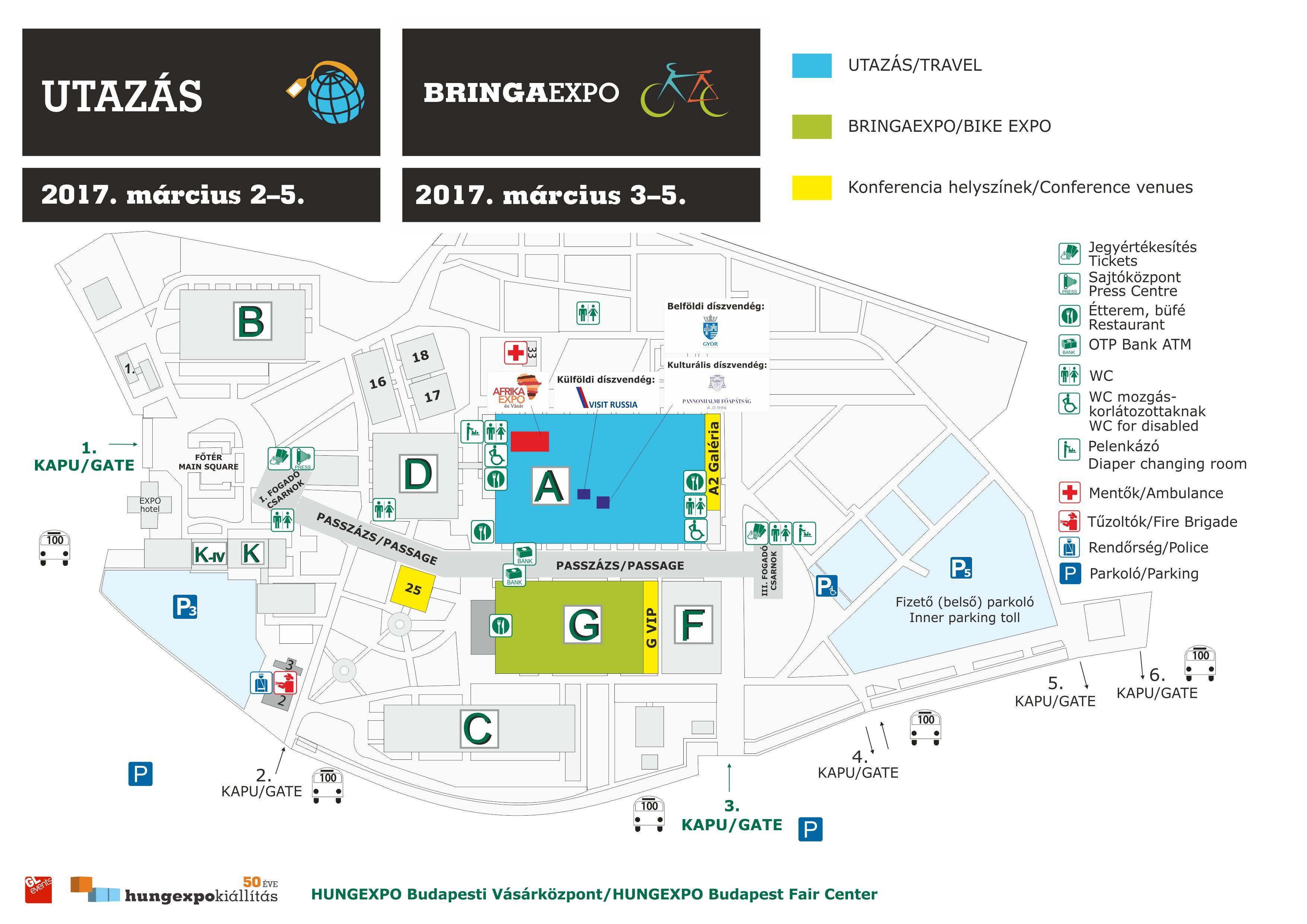 hungexpo térkép BRINGAEXPO   térkép